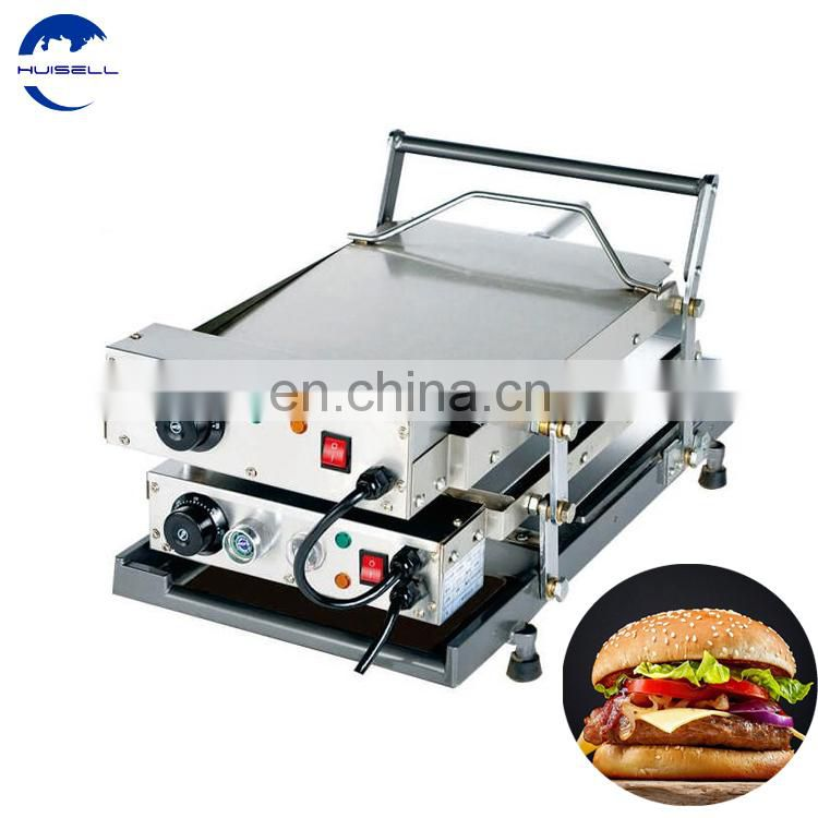 Made in China household colored hamburger bun green toaster Image