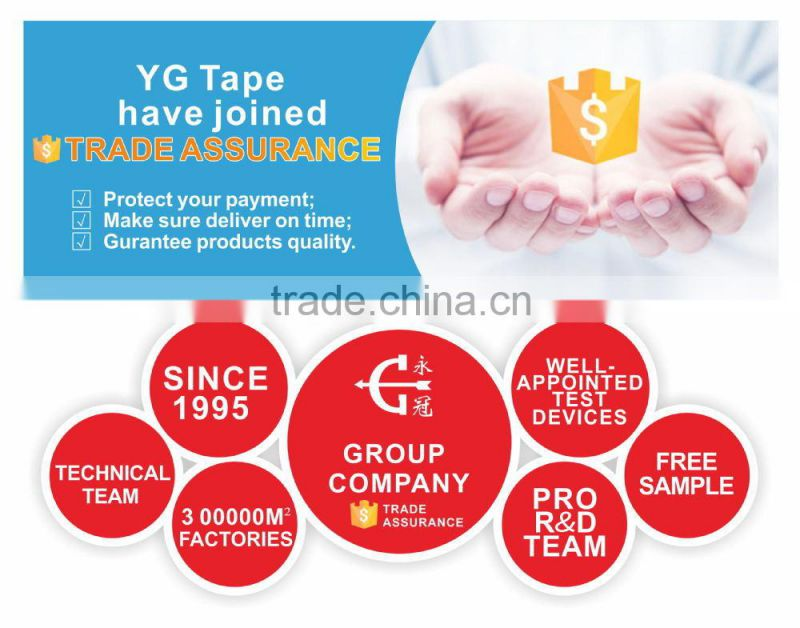 2015 YG BRAND TAPE PVC flooring warning optical adhesive tapes