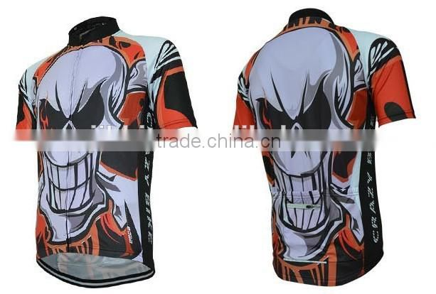 Men's Cycling Sports Bicycle Bike Cycle Short Sleeve Jersey Breathable Mountain Clothing