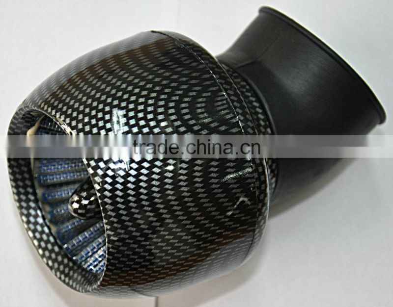 48MM Carbon Air Filter For Scooter,Motorcycle And Atv