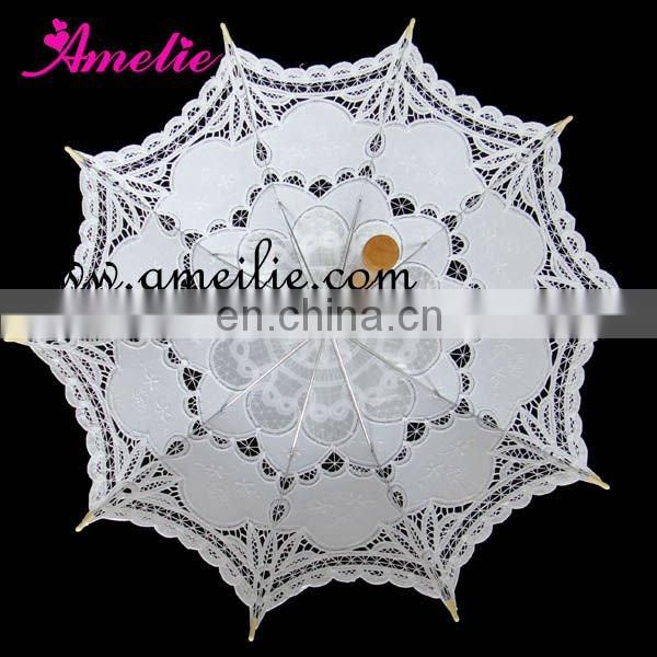 Spring Free Promotion home use white parasol