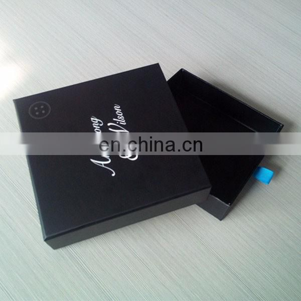 chinese supplier hot sale slide packing box with custom design