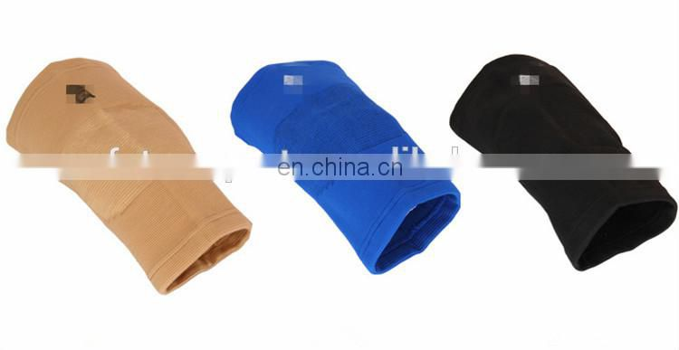 Blue color elastic sports protecting volleyball knee pads wholesale