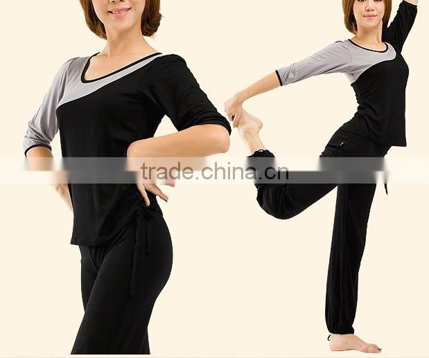 Bamboo/Cotton blend Ladies' Yoga Dress Fitness Suits