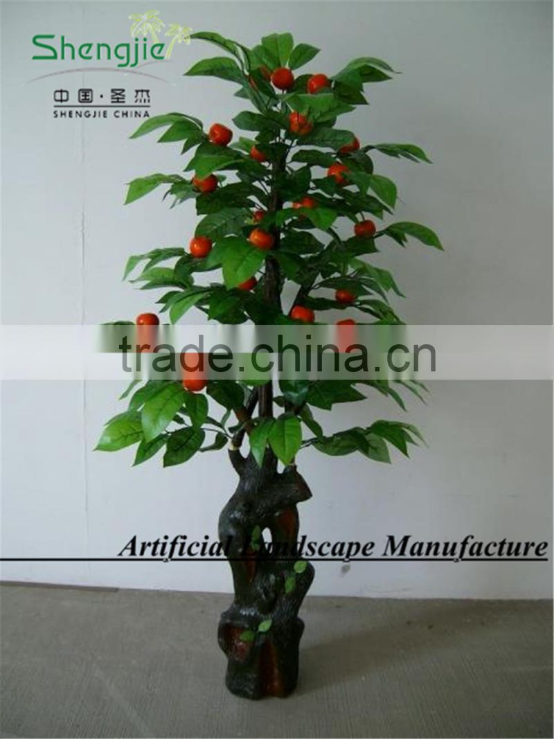 SJ255 indoor artificial orange tree with high simulation in GuangZhou