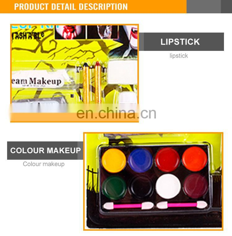 Wholesale children make up set waterproof face paint