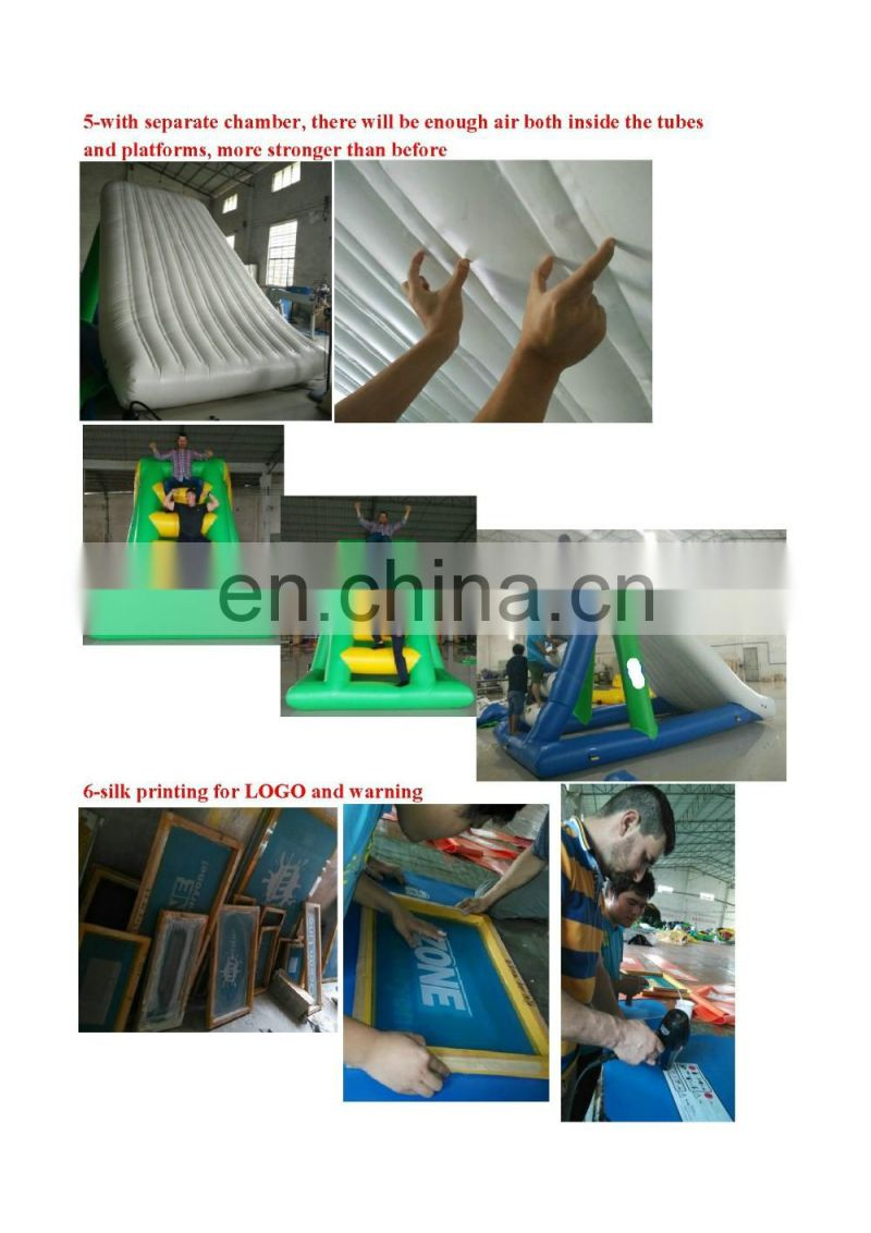 TOP inflatable water slide,inflatable slip slide with pool