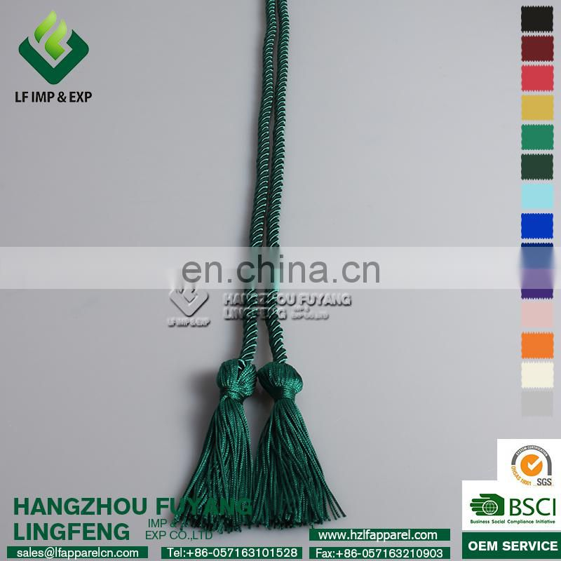 Graduation Honor Cord-Emerald Green