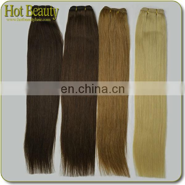 Hot Beauty Hair Colored Hair Euro Straight Blonde Luxury Hair