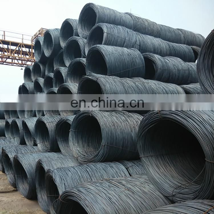 Hot rolled low carbon steel wire coil/steel wire rod/steel wire