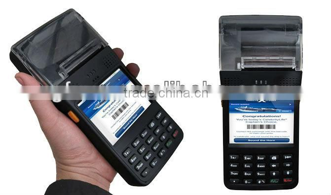 GF1200P portable PDA with built in printer
