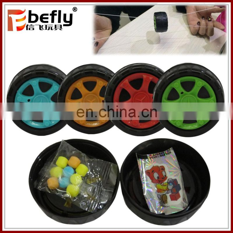 China manufacturer plastic building block toy candy in egg