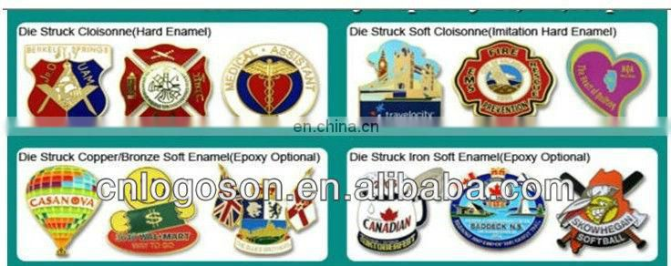 promotion custom germany souvenir metal flag map pins