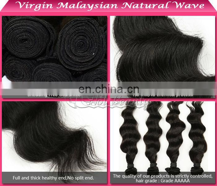 Very nice shape and full end one piece human hair extensions