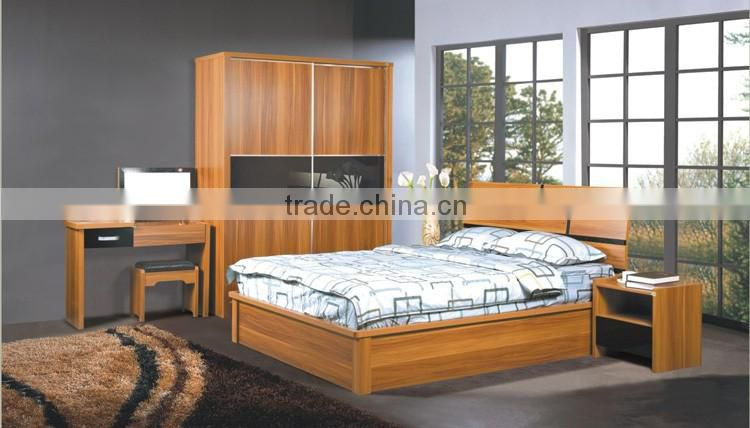 Factory Directly Wholesale King Size cheap Furniture Modern Bedroom Sets(SZ-BFA8010)