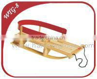 Baby Wooden Pull Sleigh