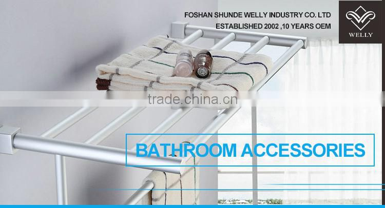 High Grade 304 Stainless Steel Single Towel Rail