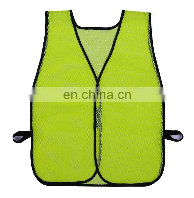Promotional polyester reflective safety vest with great quality