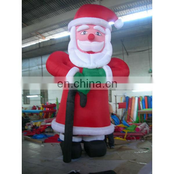 christmas inflatable product giant inflatable santa claus for sale