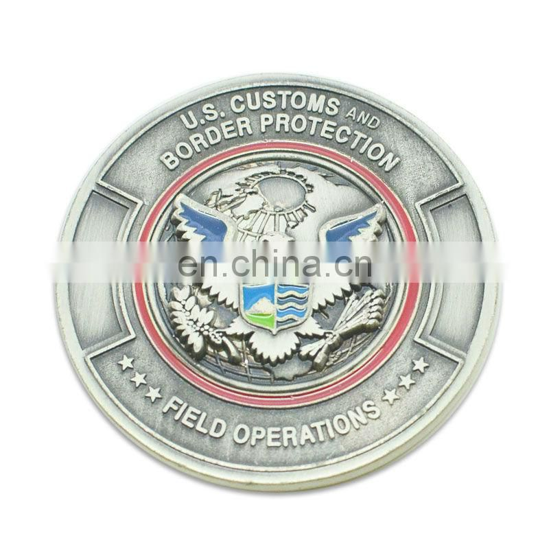 Custom 3d metal memento coin