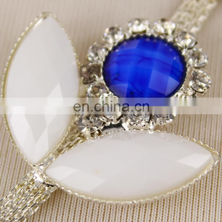 Wholesale decorative jewelry rhinestone beaded trimming for dress WTR0181