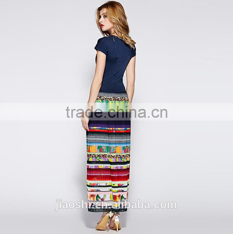 Chinese factory fashion design sexy patterns one piece casual maxi long ladies dress for women summer beach