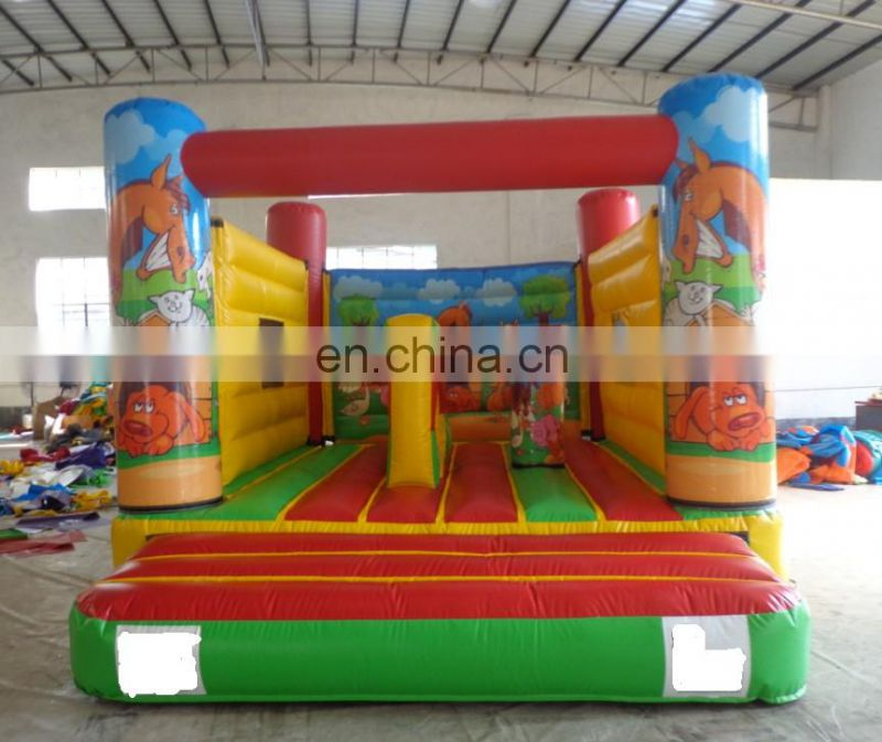Little Play Barn inflatable animals farm bounce house
