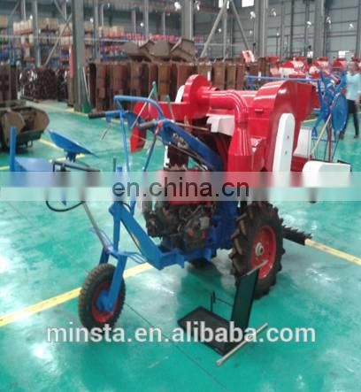 Combine Harvester Type and ISO9001 Certificate mini combine harvester