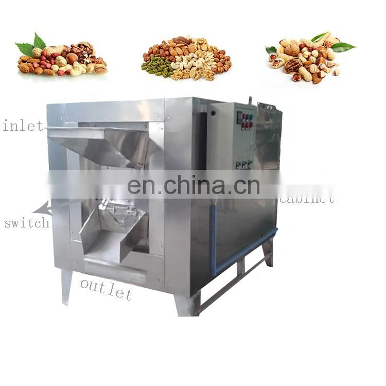 Small Scale cashew nut roasting machine commercial nuts roasting machine