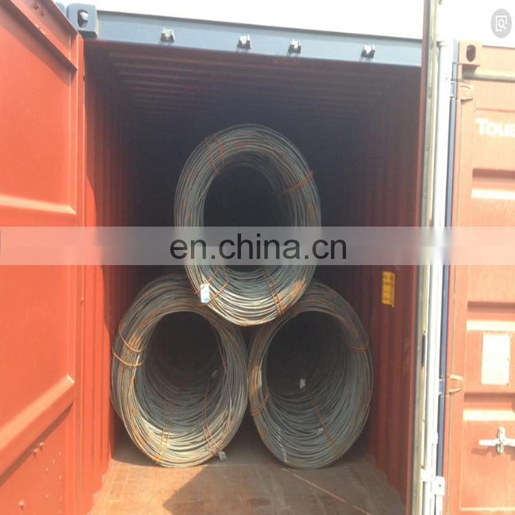 Steel Wire Rod for Grade SAE1006 1008 1018 Q195 Q235