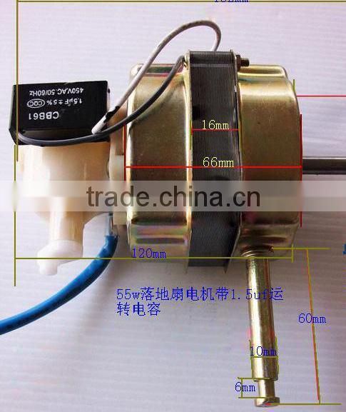 Wholesale high qualiy cbb61 ceiling fan capacitor 3.5uf