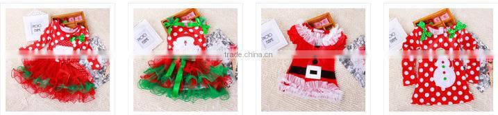 2015 OEM wholesale kids sleeveless christmas party dresses