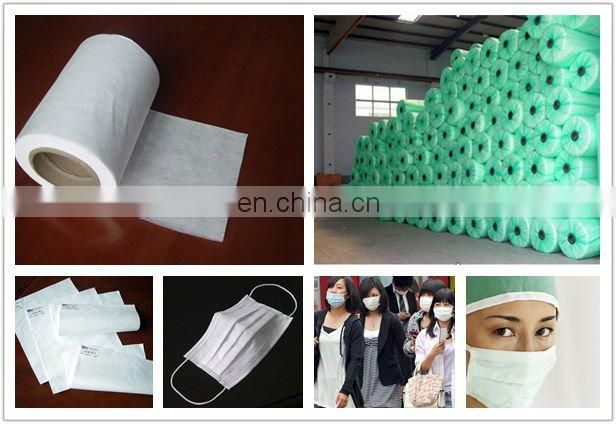 Nonwoven 100% PP micro fiber meltblown fabric