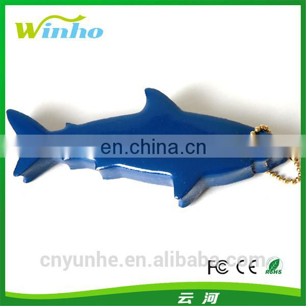 Shark Shape Floating Keychain