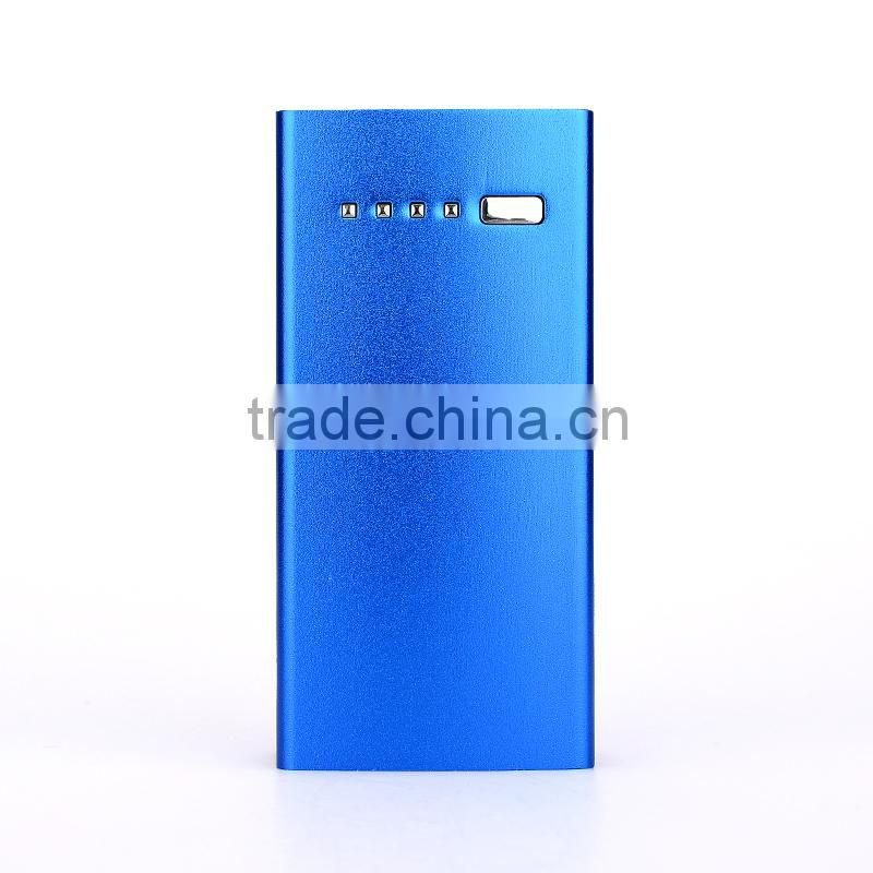 Colorful for samsung galaxy power bank rechargeable power charger 4400mAh for Chrismas gifts