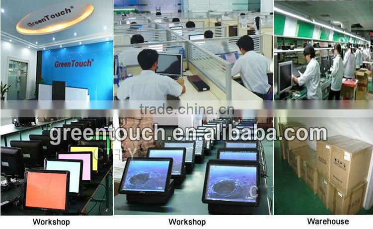 open frame touch monitor with metal case and frameless design for industrial applications(10.2inch,12.1 inch)