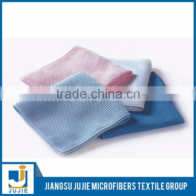Wholesale customized good quality high performance microfiber cleaning cloth