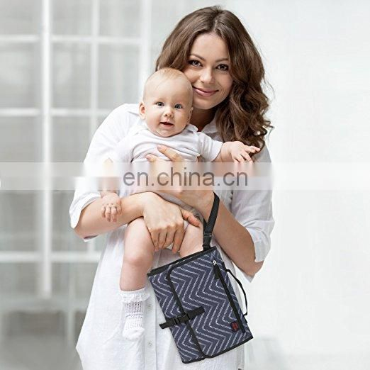 Elinfant waterproof baby travel portable changing pad diaper changing clutch manufacturer