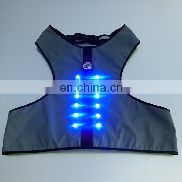 Cheap led dog vest glovion dog safety vest fluorescent dog vest