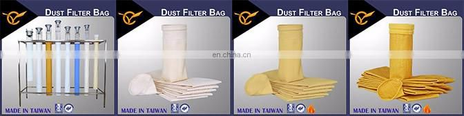 Hydrolysis Resistant Industrial Acrylic Dust Filter Bag