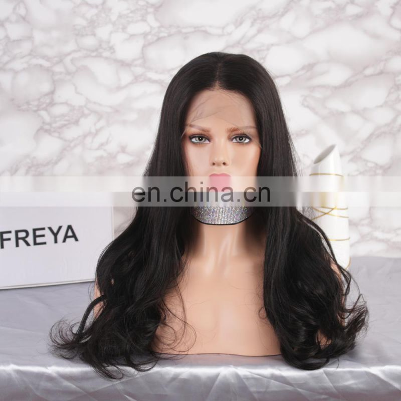 Best selling full lace real virgin brazilian human hair wig