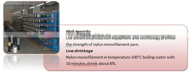 Hot sale Nylon monofilament yarn 55D 100D for silk stocking