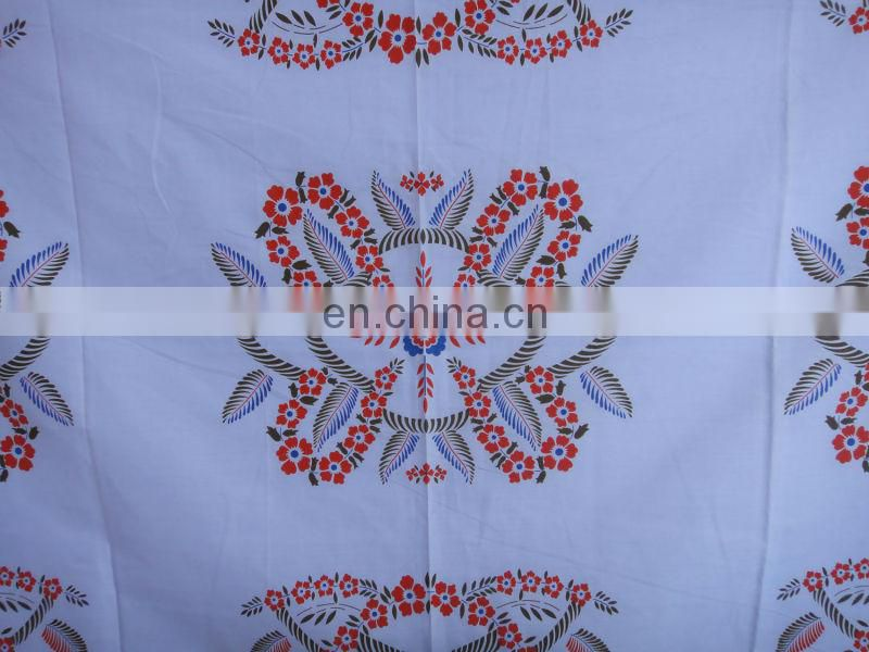 100% polyester pigment printing fabrics with a very low price