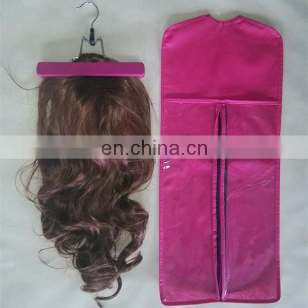 Personalized Drawstring Satin Hair Extension Bag,hair straightener carry on bag
