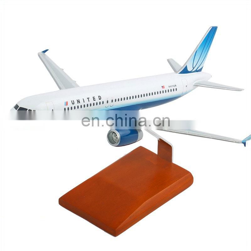 Airbus A320 United Airline's model, scale aircrafts model planes