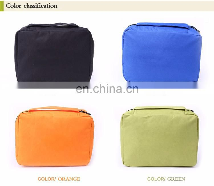 Multi-function hanging travel wash cosmetic toiletry bag