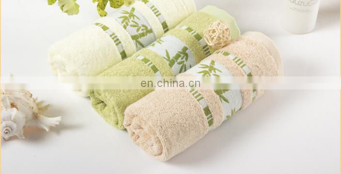 wholesale bamboo fiber towels thicken face towels for home hotel gift