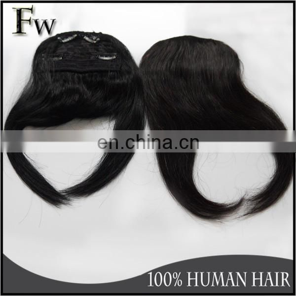 Factory wholesale bangs popular clip on bangs for black women