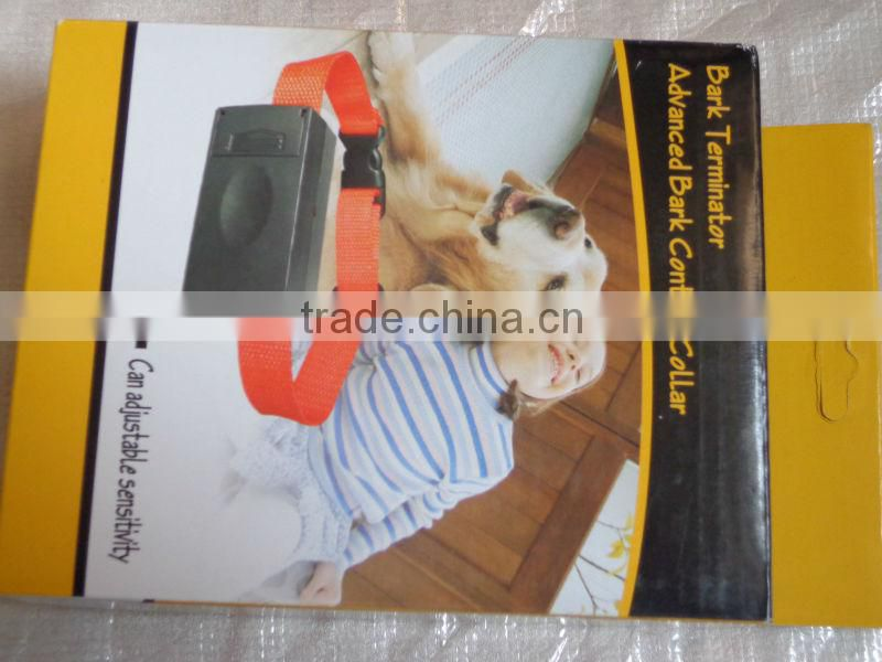 2014New arrival! Anti Bark No Barking Shock Dog Training Collar Automatic Collar Bark Terminator