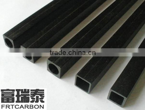 China manufacturer carbon fiber (fibre)products:pultrusion carbon fiber solid rods square/rectangular /round pipes tubes